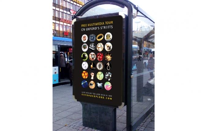 Oxford Explore Street Advertising