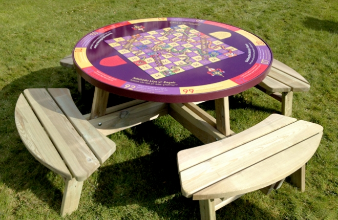 STD Interactive picnic table