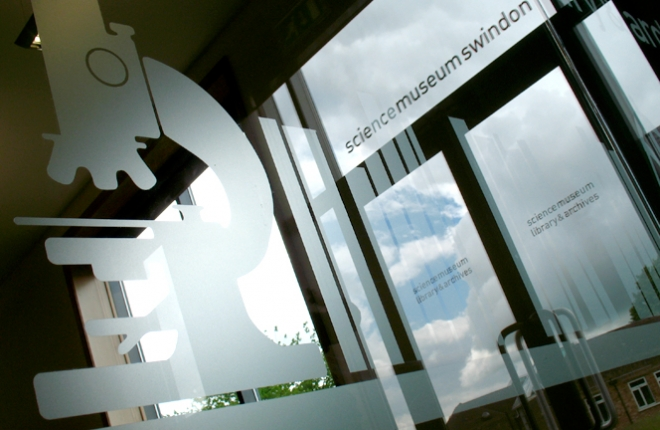 Science Museum - etched glass
